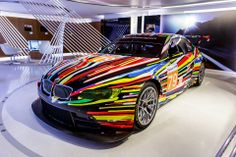 BMW M3 GT2. Jeff Koons. Collection BMW Art Car, #17 - 2010.