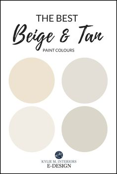Learn all about the best neutral beige and tan paint colours, including Benjamin Moore Grant Beige, Shaker Beige, Stone House, Lenox Tan. Shaker Beige Benjamin Moore, Benjamin Moore Colors, Beige Paint Colors, Interior Paint Colors, Gray Paint, Neutral Colors, Beige Colour, Nude Color, Manchester Tan Benjamin Moore