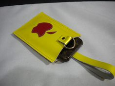 Genuine Leather Iphone Ipod Camera  Gadget by maycascollection on Etsy, $22.00