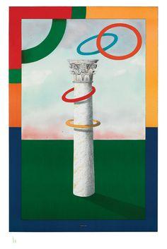 1984_XIV_Olympic_Winter_Games_SarajevoMilton-Glaser-massimo-vignelli-design-heroes