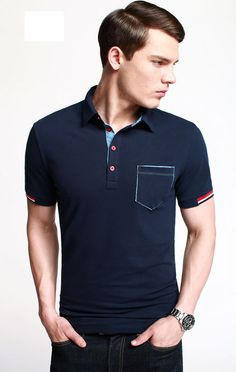 Polo Rugby Shirt, Polo T Shirts, Moda Professor, Denim T Shirt, Le Polo, Men Looks, Shirt Style, Men Sweater, Unif