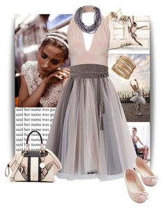 """""""Ballet Inspired"""" by alynncameron ❤ liked on Polyvore featuring J Brand, Chicwish, Ippolita, R.J. Graziano, GUESS and Lia Sophia"""
