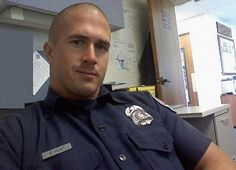 love them or hate them, they can be hot in uniform. post your hot cop pics, please Badge Bunny, Hot Cops, Bald Men, Hommes Sexy, Men In Uniform, Cop Uniform, Raining Men, Military Men, Military History