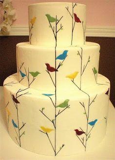 how do i love thee: : bliss : bird theme weddings