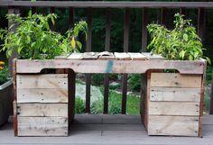 Visibilmente commosso: fai da te: mobili ponte Pallet