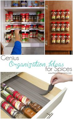 Love these tips on organization. Surprisingly, if you can see what you have, you probably won't buy things unnecessarily!