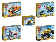 High-Speed Action with the LEGO® Creator Kit!