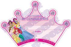 Invitaciones De Cumpleaños De Princesas - Hd Para Bajar Gratis 3  en HD Gratis