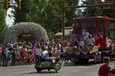 Fourth of July in Jackson Hole, Wyoming