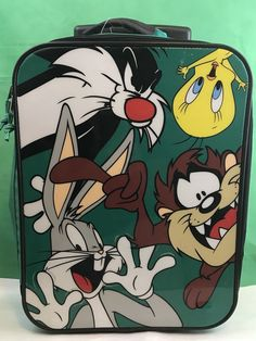 Daffy Duck Bag Looney Tunes Sports Bag Cartoon Character Great for Uni School