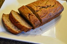 Best Ever Gluten Free Banana Bread! Truly delicious. I added vegan chocolate chips, used 1/2 cup organic brown sugar  1/2 cup organic cane sugar, sifted the flours  baking soda together, used cinnamon unsweetened applesauce,  made muffins instead of a loaf.