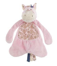 Baby Ganz Wee Western Horse Pacifier Cozy - Pink $8.95