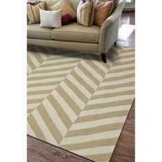 Handmade Flat Weave Stripe Pattern Brown Rug (8' x 10') | Overstock.com Shopping - The Best Deals on 7x9 - 10x14 Rugs