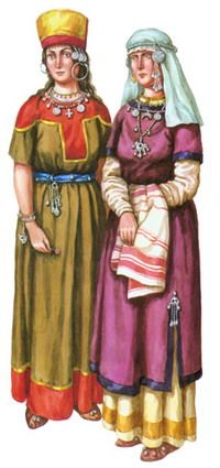 East Slavic tribes - ancestors of the Ukrainian - before the formation of the state