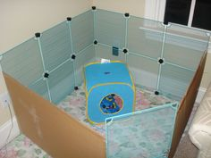 My new playpen! (homemade) pics *added some new pics!*