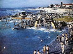 Sea Point swimming pool 1953.