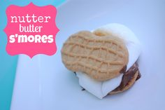 Use Nutter Butters to make S'mores