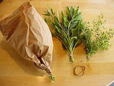 Preserving herbs...drying, freezing, storing