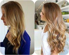 Really nice light brown hair