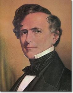 14th President - Franklin Pierce  He was  described as likeable and sociable and charming and handsome.