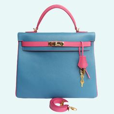 805be118df To know more about HERMES Kelly Bag lightblue×pink