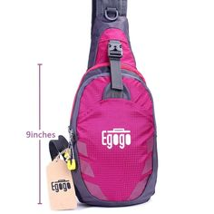 Sling Bag, EGOGO Outdoor Casual Bike Camping Hiking Chest Shoulder Unbalance Gym Fanny Backpack Sack Satchel Cross body Bag for women and men ** Want additional info? Click on the image. (This is an Amazon Affiliate link and I receive a commission for the sales)