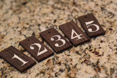 DIY wood tags