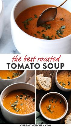 Healthy Soup Recipes, Easy Dinner Recipes, Vegetarian Recipes, Cooking Recipes, Dinner Ideas, Kids Soup Recipes, Recipes For Picky Eaters, Blended Soup Recipes, 12 Tomatoes Recipes