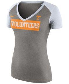 Nike Women's Tennessee Volunteers Tailgate Football T-Shirt - Gray M