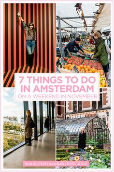 Top 7 Things To Do in Amsterdam on a Weekend in November – Travel Pockets – Best Europe Destinations Amsterdam Map, Amsterdam Travel Guide, Europe Travel Guide, Europe Destinations, Travel Guides, Amsterdam Things To Do In, Visit Amsterdam, Travel Abroad, Holiday Destinations