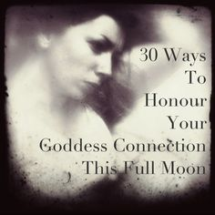 When the moon reaches its fullest, we often feel the pull of the sacred feminine. There's something activated within us, and our goddess connection calls for recognition. There are so many ways that you can honour this inner divinity – this call to embody spirit. Here are a few of my favourites…