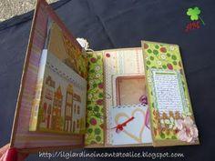 Il giardino incantato di Alice: Mini album clic clic