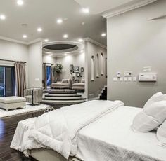 22 refreshing master bedroom design ideas for renovation or building 11 ⋆ All About Home Decor Dream Master Bedroom, Farmhouse Master Bedroom, Master Bedroom Design, Home Decor Bedroom, Modern Bedroom, Bedroom Ideas, Contemporary Bedroom, Bedroom Designs, Bedroom Colors