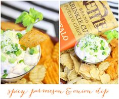 ADDICTIVE Spicy Parmesan & Onion Dip