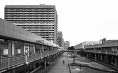 "b-a-c-u: ""18-storey housing complex, (Hochhaus-Scheiben) Halle-Neustadt, Germany, built from 1970 to 1975. Architect: I. Schneider, E. Scholz, P. Morgner © BACU """