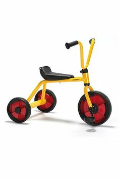 * TRICYCLE by MotivationUSA. $102.15. * Basically the same tricycle as model 580.00, only with slightly elevated ride height. This tricycle provides plenty of fun for the youngest children and also helps develop their motor skills.