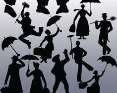 45 Peter Pan & Tinkerbell Silhouette digital von CosmosFineArt