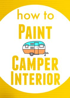 How to Paint Camper Interior | TheNoshery.com - @TheNoshery