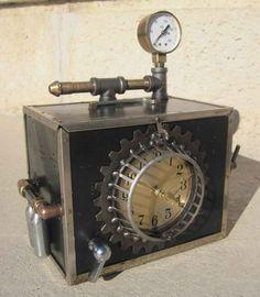steampunk machines | Steampunk Time Machine by Ed Kidera | Steampunk Works of Art