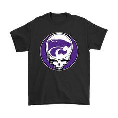 NCAA Football Kansas State Wildcats x Grateful Dead Shirts - NFL T-Shirts Store  nfltshirt.com/ #GratefulDead #KansasStateWildcats