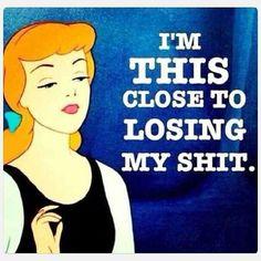 Cinderella has had enough