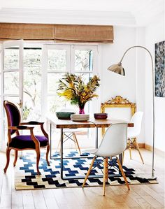 Tour a Collected Townhouse in the Heart of Madrid via @mydomaine