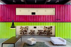interior space bordering shipping container galleries  image © pedro vannucchi