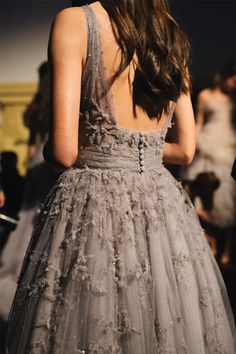Backstage at Paolo Sebastian — Lei Lady Lei Elegant Dresses, Pretty Dresses, Beautiful Dresses, Indian Designer Outfits, Designer Dresses, Evening Dresses, Prom Dresses, Formal Dresses, Tea Length Dresses
