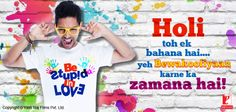 Holi hai bhai Holi hai bura na maano Holi hai!   Wishing you all a colorful and joyful Holi! :)