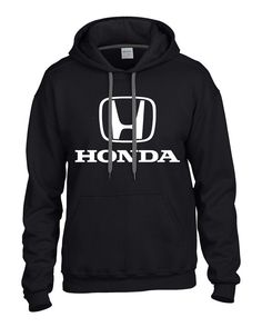 Honda Pullover Hoodie / Hooded Sweatshirt Civic by SmurfStories