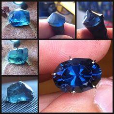 Top Notch Faceting - Kenyan Sapphire • 5.23 Carats