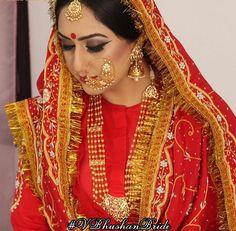Meet Taj.....doesn't she look like Heer from the movie Heer Ranjha  Ethereally Beautiful in her vintage outfit and jewellery, she looks out of this world!! You nailed it girl  #vintagebride #heerranjha #beautiful #vbhushanbride #punjabibride #punjabiweddings #wedmegood #weddingsutra #weddingz #weddingzin