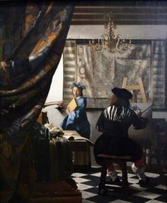 Johannes Vermeer - The Art of Painting - c.1666-c.1668