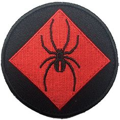 Patch Squad Men's Red back One Spider Patch